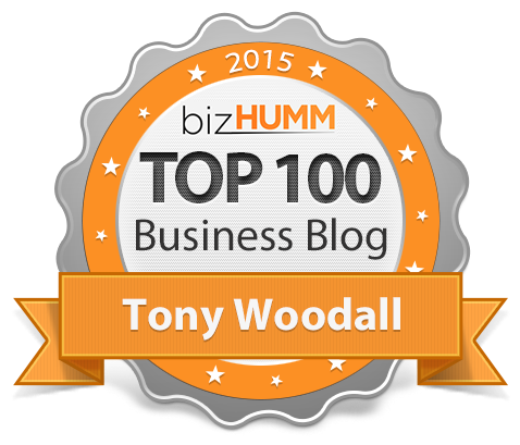 BizHUMM Award for 2015 Top 100 Business Blogs